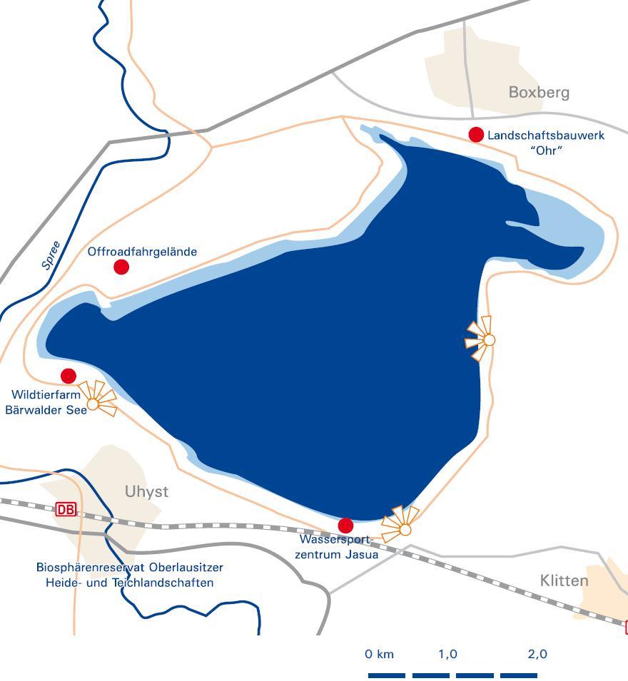 Segelrevier Bärwalder See