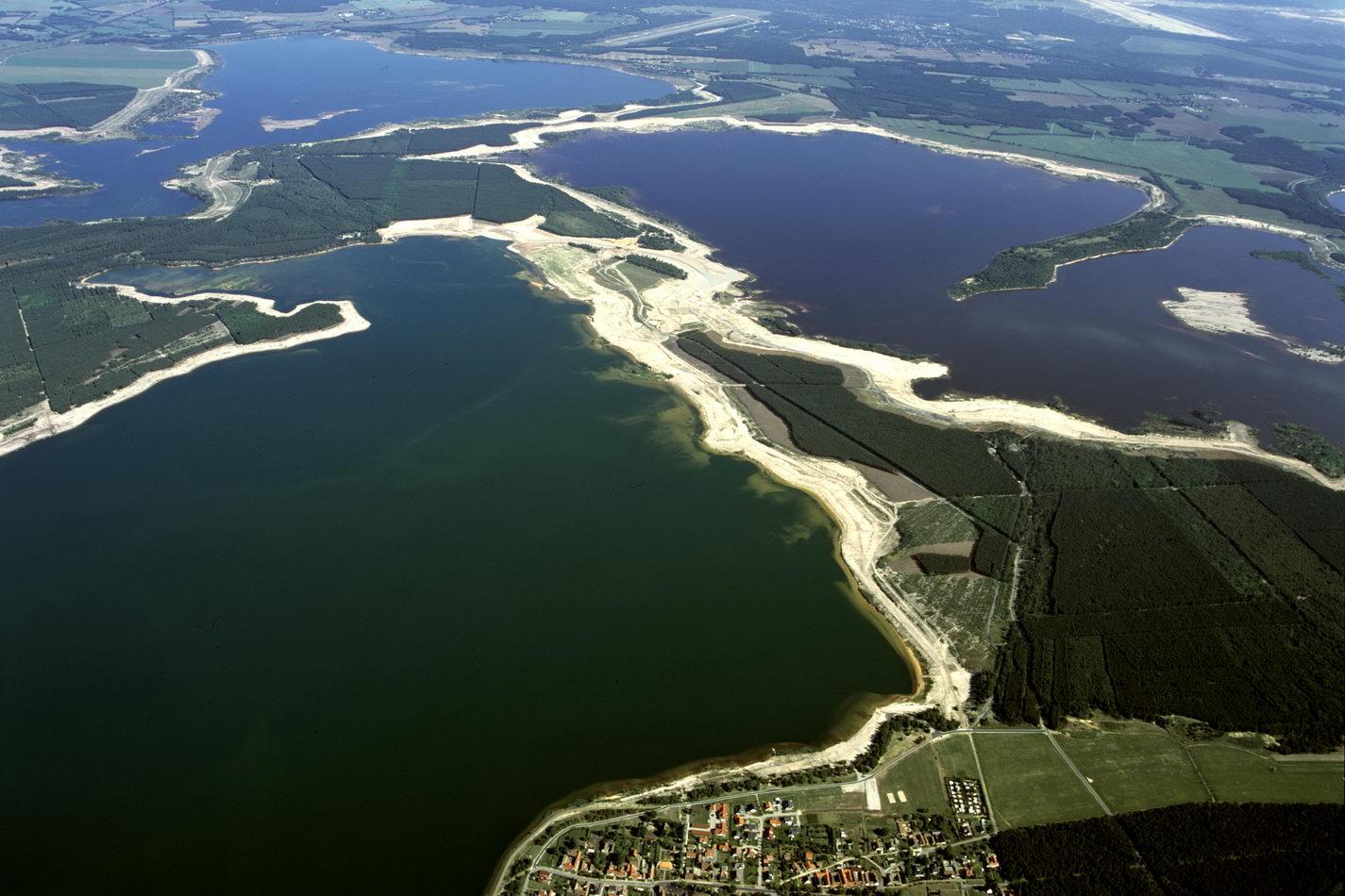 Segelrevier Partwitzer See