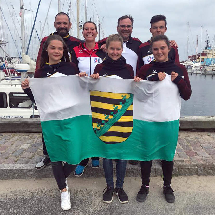 Sächsisches Europe-Team in Faaborg 2019