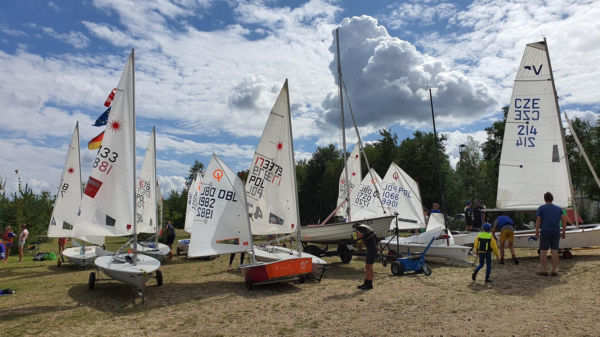Dreiländer-Jugend-Segelcamp Berzdorfer See