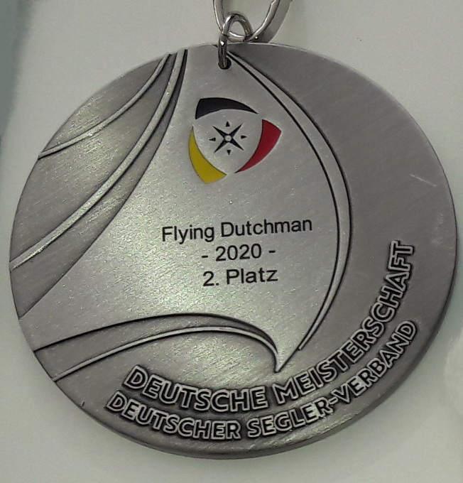 Silber Medaille Deutscher Meister FD 2020