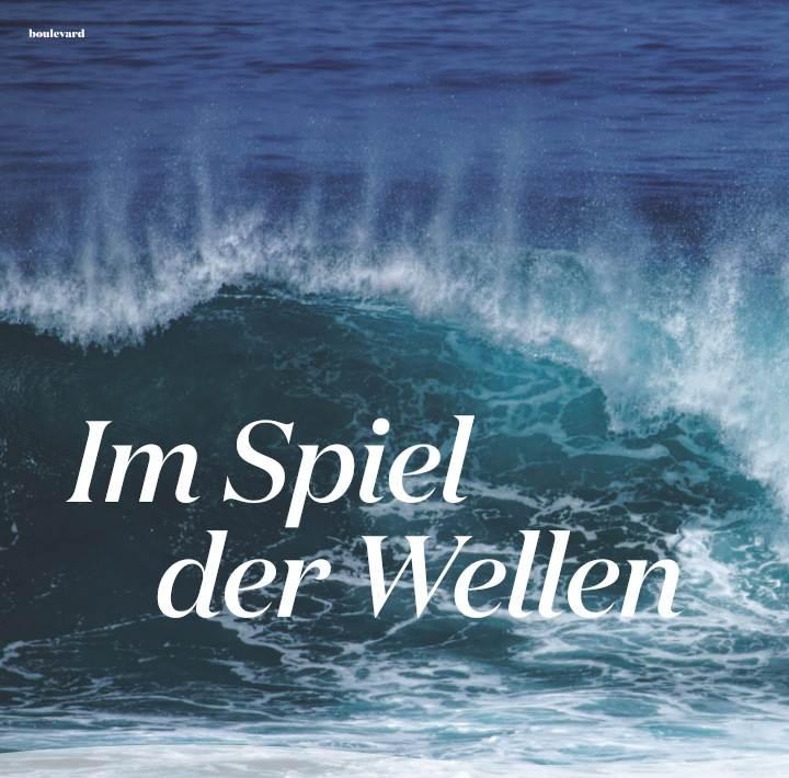 topmagazin Leipzig Sommer 2021 Im Spiel der Wellen